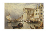 The Church of Santa Maria Del Rosario or of the Gesuati, Venice Giclee Print by Myles Birket Foster