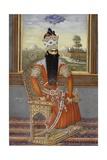 Portrait of Sultan Fath Ali Shah Qajar Giclee Print