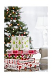 Stack of Christmas Gifts Giclee Print