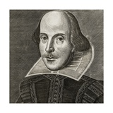 Portrait of William Shakespeare Giclee Print