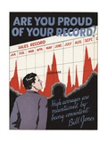 Are You Proud of Your Record Giclee Print