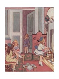 Polly, Put the Kettle on Illustration Giclée-Druck von Dorothy Wheeler
