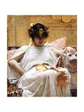 Cleopatra Giclee Print by John William Waterhouse