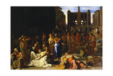 The Plague at Athens Giclee Print by Michael Sweerts