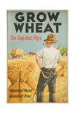 Grow Wheat the Crop That Pays Giclee Print