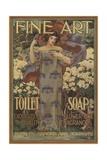 Fine Art Toilet Soap Illustration Giclee Print