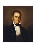 Portrait of American Statesman Richard Mentor Johnson Giclee Print by Rembrandt Peale