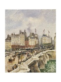 Le Pont-Neuf Giclee Print by Camille Pissarro