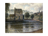 The Grey Windmill Giclee Print by Henri Le Sidaner