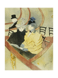 The Grand Lodge Giclee Print by Henri de Toulouse-Lautrec