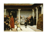 The Education of the Children of Clovis Giclee Print by Sir Lawrence Alma-Tadema