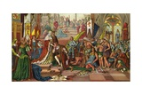 Illustration of Columbus' Reception at Barcelona Giclee Print