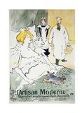 The Modern Artisan Giclee Print by Henri de Toulouse-Lautrec