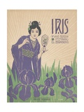 Iris Sheet Music Cover Giclee Print