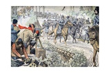 War Reporters Filming Manchuria Russo-Japanese War (June 1904) Giclee Print