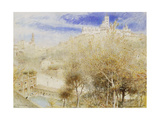 The Fonte Branda, Siena Giclee Print by Albert Goodwin