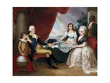 George Washington and His Family after Edward Savage Giclee Print