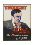 Thought Is Essential to Business Development Giclee Print