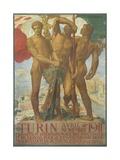 Turin Poster Giclee Print by Adolfo De Karolis