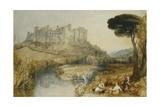 Ludlow Castle Giclee Print by J. M. W. Turner