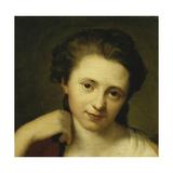 Portrait of Angelica Kauffmann Attributed to Anton Von Maron Giclee Print
