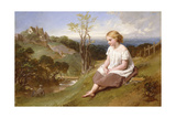 Daydreaming on the River Bank Giclee Print by Henry Lejeune