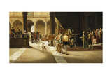 The Arrival Giclee Print by Pietro Gabrini