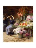 Flower Power Giclee Print by Victor Gabriel Gilbert