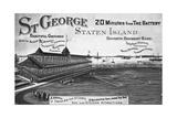 St. George, Staten Island Giclee Print
