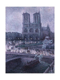 Notre Dame Giclee Print by Maximilien Luce