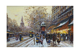 Place De La Republique, Paris Giclee Print by Eugene Galien-Laloue