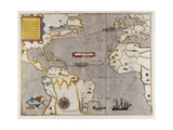 Sir Francis Drake's West Indian Voyage Giclee Print
