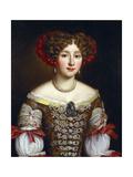 Portrait of Anna Maria Louisa De' Medici Giclee Print by Jacob Ferdinand Voet