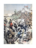 Battle Bet Herero and German Colonials Windhoek Namibia (Feb 1904) Giclee Print