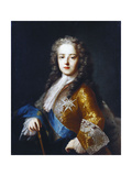 Portrait of King Louis XV as a Youth Attributed to Jean Ranc Giclee Print