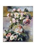 Peonies Giclee Print by Pierre-Auguste Renoir