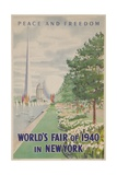 1940 New York World's Fair Poster Giclee Print