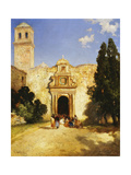 Maravatio, Mexico Giclee Print by Thomas Moran