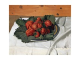 Still Life with Strawberries Giclee Print by Félix Vallotton
