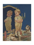 First Pair of Pants Giclee Print by Frances Tipton Hunter