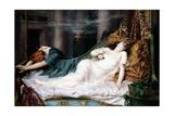 The Death of Cleopatra 'The Stroke of Death Etc' Giclee Print by Reginald Arthur