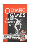 Olympic Games Los Angeles 1932 Poster Giclee Print
