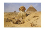 Excavation of the Sphinx Giclee Print by Ernst Karl Eugen Koerner