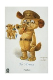 To Arms World War I Postcard Giclee Print