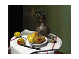 Apples and a Moroccan Vase Giclee Print by Félix Vallotton