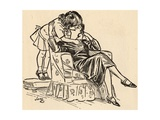 Mummy Illustration Giclee Print by Henry Matthew Brock
