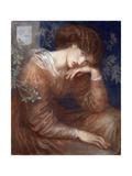 Reverie Giclee Print by Dante Gabriel Rossetti