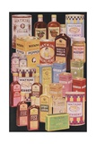 Illustration of Watkins Food Products Giclee Print