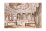 An Interior of a Palace at Uyne Giclee Print by Jules Joseph Augustin Laurens