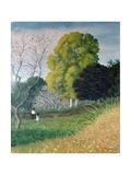 The Green Tree Giclée-Druck von Felix Vallotton